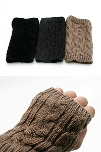 Knit short warmer
